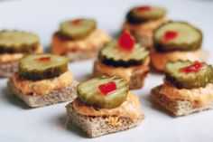 Bread and butter pickle pimento cheese!