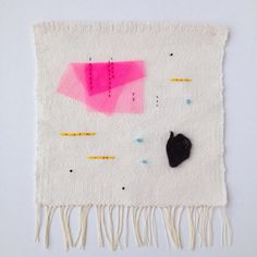 Wall hanging by Elizabeth Pawle, one of my favorite textile artists.