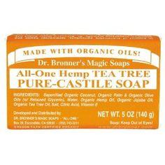 Shop Citrus Castile Bar Soap from DR. Cannabis, Organic Coconut Oil, Organic Oil, Green Tea Supplements, Tree Bar, Commerce Équitable, Lemon Oil, Palm Oil, Jojoba Oil