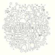 ELECTUNES AND NIKE by Jonathan Calugi, via Behance