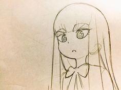 • sketches animator roughs klk kill la kill Ryuko Matoi Satsuki Kiryuin mako mankanshoku nonon jakuzure shuhei handa animeyesnow •