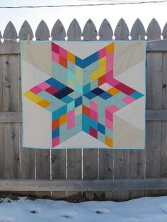 Correct link to pattern is http://www.robertkaufman.com/quilting/quilts_patterns/morning_star/