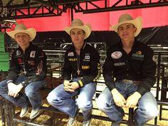 2016 PBR young guns--Cooper Davis, Jess Lockwood & Nevada Newman