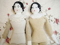 Note this is a retail pattern via Ravelry: China Doll pattern by Sara Elizabeth Kellner - this doll is great!