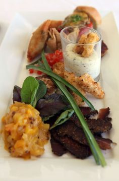 Fyndraai Restaurant on the Solms-Delta Wine Estate in Franschoek offers a unique tapas platter that draws heavily on Cape culinary traditions.