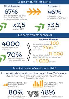 Internet des Objets en France (étude IDC publiée en Mars)