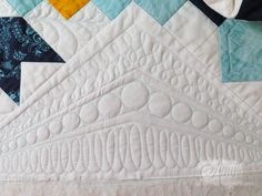 Amy's Free Motion Quilting Adventures: Quilting with Rulers: The Sampler Continues