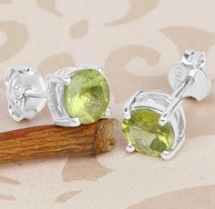 Not Only Pretty to Look But also Pleasant to Wear, Peridot Earrings!
