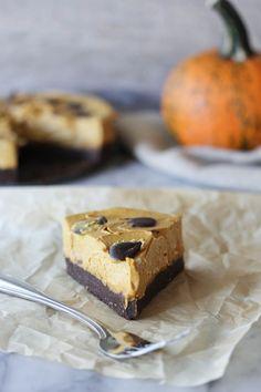 Raw Espresso Crust Pumpkin Pie