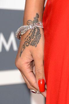 Rihanna tattoo!    #Rihanna
