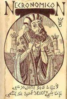 El Necronomicón, el libro de los muertos, escrito por Abdul Alhazred  Su presunto autor fue el Abdul Alhazred, un poeta loco del Sanaa al Yemen, cuyo nombre figura en The nameless city (La ciudad sin nombre, 1921), etc...
