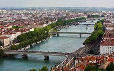 Lyon - Ponts du Rhône - Cédric DARBORD artiste photographe Lyon France