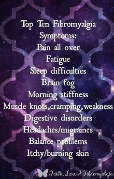 Fibromyalgia yep. ..Fibromyalgia and Chiari Warrior's Life 💜