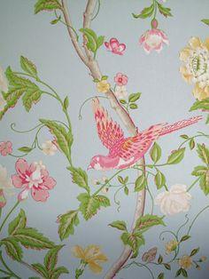 Beautiful romantic wallpaper from Laura Ashley