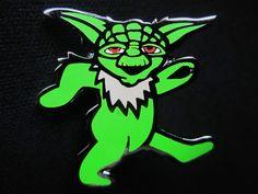 Dancing Bear Lapel Pins Grateful Dead fear /& loathing Star Wars yoda weed custom