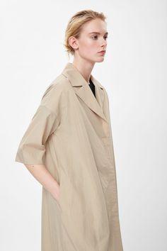 cos oversized poplin jacket.