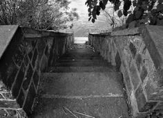 Stairway to the Poquessing Creek from Glen Foerd Estate.  Photo Courtesy of Mike Slickster.   www.glenfoerd.org