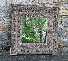 miroir dentelle de carton