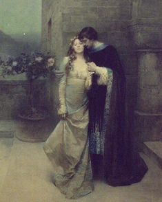 Art-is-art-is-art: Couple Embracing, William Ladd Taylor - Romance Arte, Fantasy Romance, Couple Painting, Couple Art, Art Romantique, Writing Romance, Writing Art, Renaissance Paintings, Renaissance Art