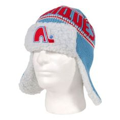 Quebec Nordiques Vintage Yeti Knit Hat Size One Size by '47 Brand. $34.00. The Yeti Knit Hat by 47 Brand features: - 100% heavy acrylic knit with earflaps - Jacquard team name with flat embroidered logo on front - Sherpa inner lining
