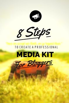 8 Steps to a professional media kit