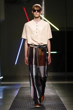 MSGM Menswear Spring Summer 2016 Milan - NOWFASHION