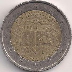 Motivseite: Münze-Europa-Südeuropa-Italien-Euro-2.00-2007-Trattati di Roma