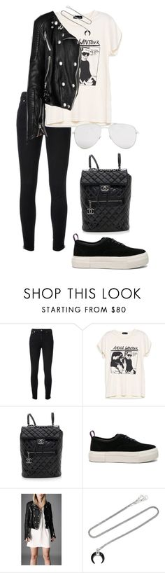 """""""Sin título #905"""" by elipenaserrano ❤ liked on Polyvore featuring Yves Saint Laurent, Chanel, Eytys, Burberry and Chan Luu"""