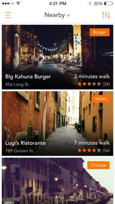 Dribbble - 01_list_of_restaurants.png by Ales Nesetril