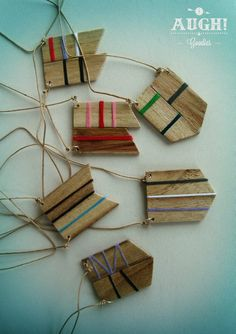 Our wood Necklaces