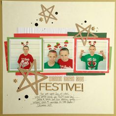 Precocious Paper: Festive - DCWV