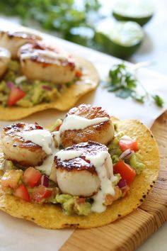 Move over tacos, these scallop tostadas are SO good and they're ready in less than 20 minutes!