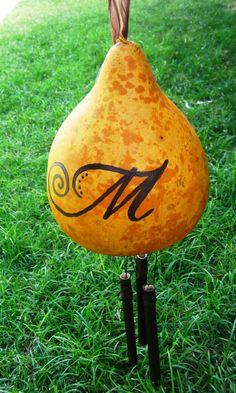 Gourds Crafts | Ashley's Craft Corner: Gourd Windchime