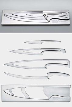 nesting knife set > designed by mia schmallenbach for degion