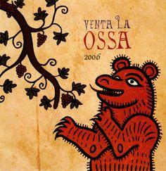 Venta La Ossa 2006 | '101 Etiquetas originales de vinos que no te dejarán impasible' by @Recetum