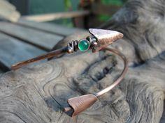 Arrow Copper Cuff Bracelet