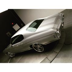 1970 Chevrolet Chevelle grey Silver. Billet Specialties 5 star wheels 19/20. 502 pro touring