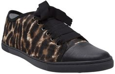 Pin for Later: The Best Trainers to Help You Survive Winter in Style  Lanvin leopard-print trainers (£455)