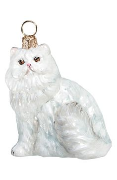 Joy to the World Collectibles Cat Ornament available at #Nordstrom