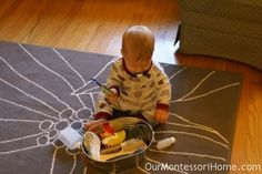 Preparing for Baby: Infant Activities — Our Montessori Home