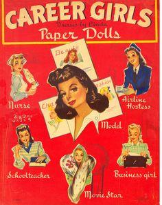 Kathleen Taylor's Dakota Dreams: Thursday Tab- Lowe 1942- Career Girls