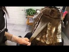 How To Balayage Ombre Step by Step Hair Tutorial Balayage Hair Tutorial, Balayage Technique, Hair Technique, Hair Cutting Techniques, Hair Color Techniques, Balayage Ombré, Balayage Color, Bayalage, Balyage Short Hair