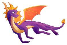 Spyro by on DeviantArt Spyro The Dragon, Dragon Art, Spyro And Cynder, Dragon Series, Drawing Games, Sonic Fan Art, Wings Of Fire, Crash Bandicoot, Character Design Animation