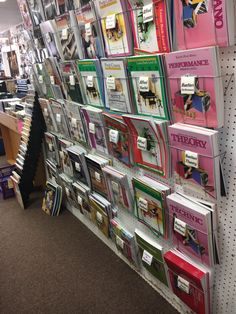 We have a great selection of books for all ages.  And the teacher to help you learn.  Guitar  Bass Drums Sax  Piano Voice and many other instruments.