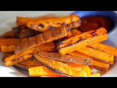 How-To Make Baked Sweet Potato Fries