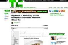 http://techcrunch.com/2013/06/25/digg-reader-is-a-promising-but-still-incomplete-google-reader-alternative-hands-on/ ... | #Indiegogo #fundraising http://igg.me/at/tn5/