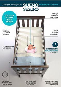 ¿Sabías que tu bebé está más seguro a los pies de la cuna? #cuna #bebes #unamamanovata ▲▲▲ www.unamamanovata... ▲▲▲
