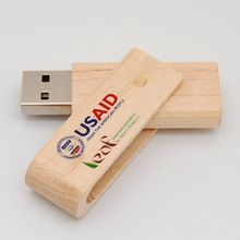 Promotional Gifts wooden twister usb flash sticks