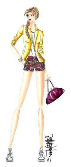 Drawing techniques   http://fashionandillustration.com/en/   Fashion illustration by Paola Castillo   ♦F&I♦