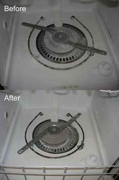 How to remove hard water build up and film in your dishwasher using Lemi Shine dishwasher detergent additive {info on Stain Removal 101}